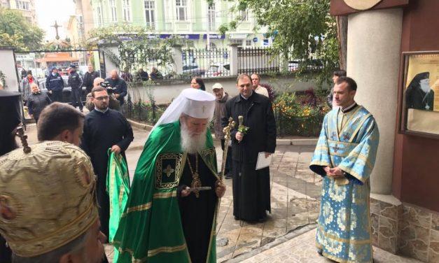 """Негово Светейшество Българският патриарх Неофит оглавява Божествената св. Литургия в храм """"Въведение Богородично"""""""