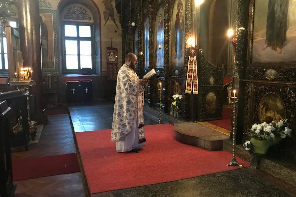 """Отбелязването на Празника на Стара Загора -5-ти октомври започна с тържествена Света литургия в катедралния храм """"Св. Димитър""""."""