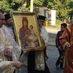 гр . Харманли – Литийно шествие с чудотворната икона на Св. Богородица Скоропослушница от гр. Ананиев, Украйна