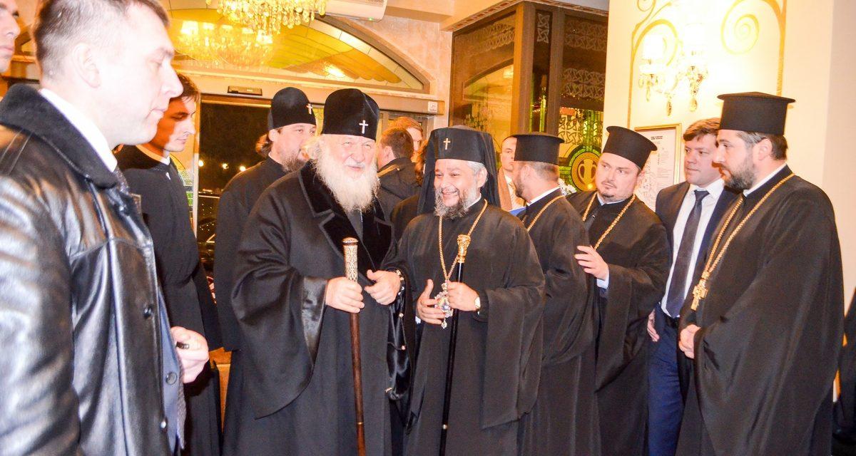 Митрополит Киприан ще приветства патриарх Кирил по случай 10-годишнината от избора му
