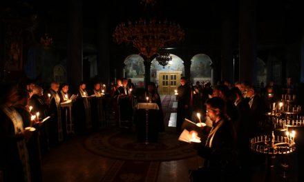 Велико повечерие с Втора част на Канона на св. Андрей Критски (СНИМКИ)