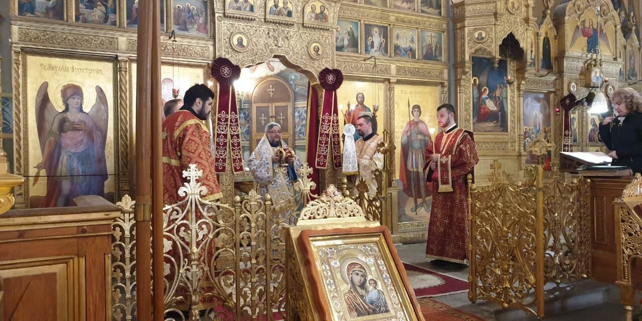 Митрополит Киприан оглави Литургията на Втората неделя от Великия пост