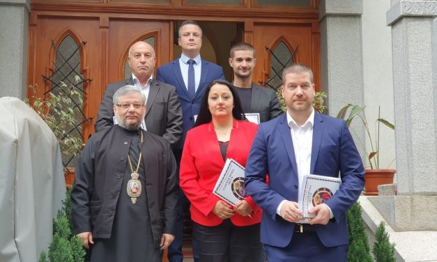 Митрополит Киприан посрещна представители на властта и кандидати за евродепутати в Митрополитския дом