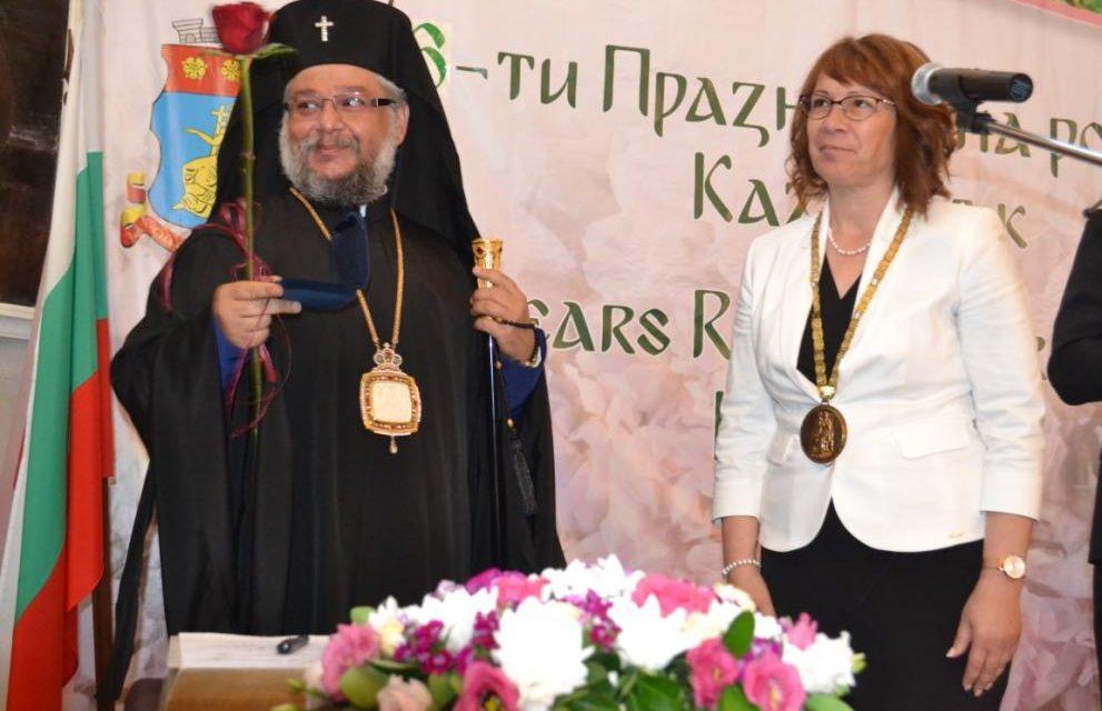 """Митрополит Киприан е """"Почетен гражданин на град Казанлък"""""""""""