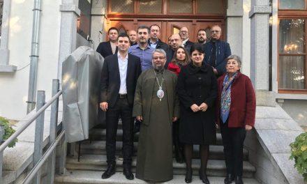 Митрополит Киприан посрещна предпразнично Председателския съвет на ОбС Стара Загора