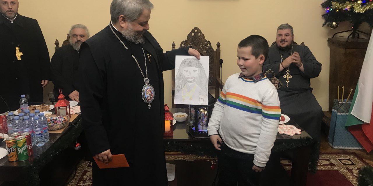 На Богоявление: Подстригват 8-годишен за иподякон на митрополит Киприан