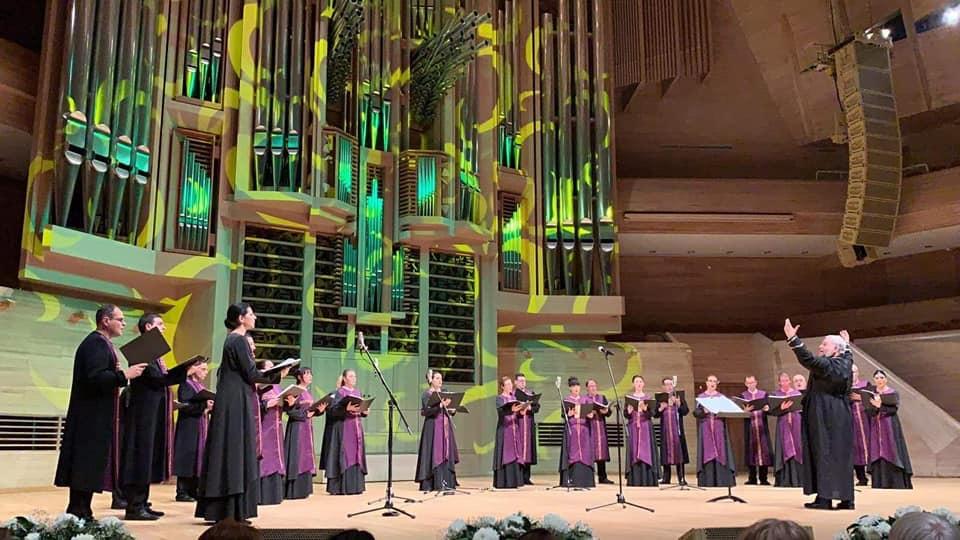 Архиерейски хор с фурор в Москва