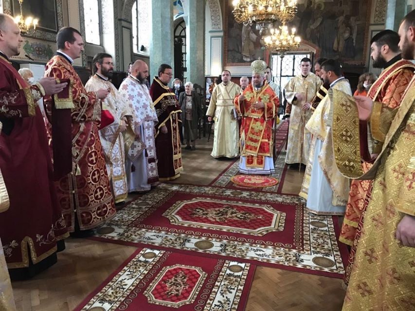 "На Гергьовден – митрополит Киприан отслужи литургия в Катедралния храм ""Св. Николай"""