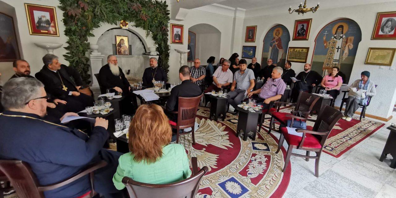 """Епархийският съвет на Старозагорска митрополия проведе изнесено заседание в Бачковския манастир """"Успение Богородично"""""""