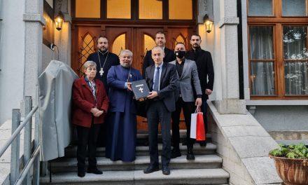 Митрополит Киприан се срещна с министъра на образованието Красимир Вълчев