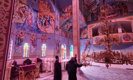 """Поставят църковната утвар в храм """"Св. Игнатий Старозагорски"""""""