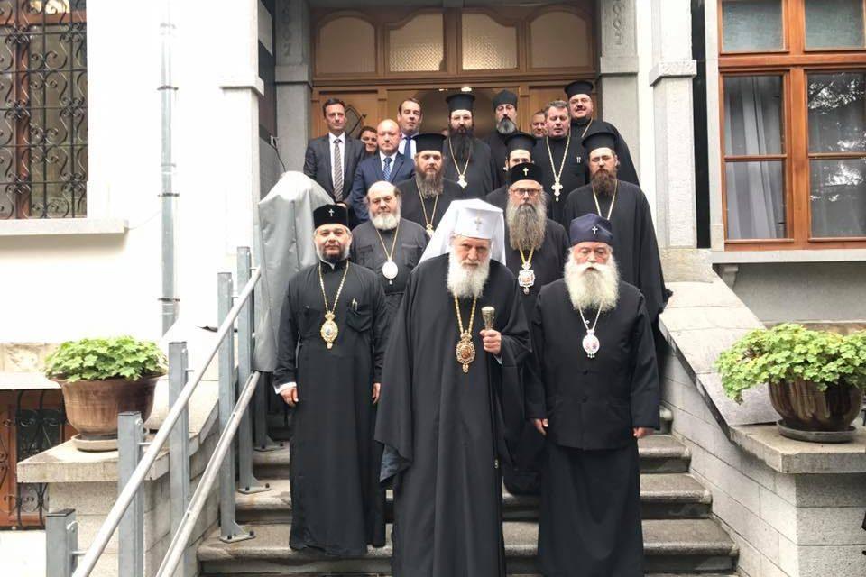 Негово Светейшество Българският патриарх Неофит посети Старозагорската митрополия.