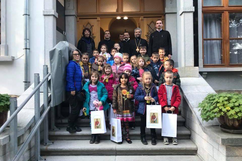 20 деца поздравиха митрополит Киприан за 1 ноември