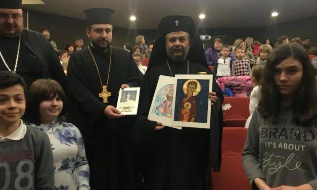 Среща на Негово Високопреосвещенство Старозагорският митрополит Киприан с децата от общината, които са включени в групи за православно религиозно образование