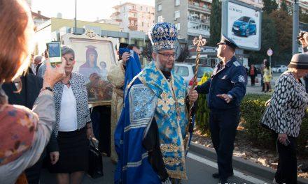 Стара Загора посрещна иконата на Света Богородица Скоропослушница