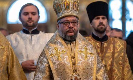 Митрополит Киприан служи в Киево-Печерската лавра