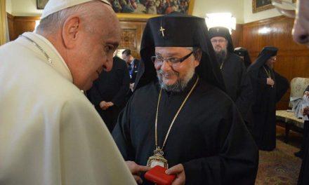 Митрополит Киприан присъства на срещата с папа Франциск