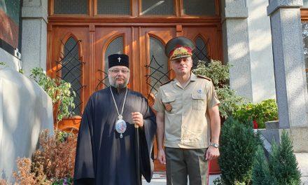 Митрополит Киприан се срещна с новия Командир на Втора механизирана бригада