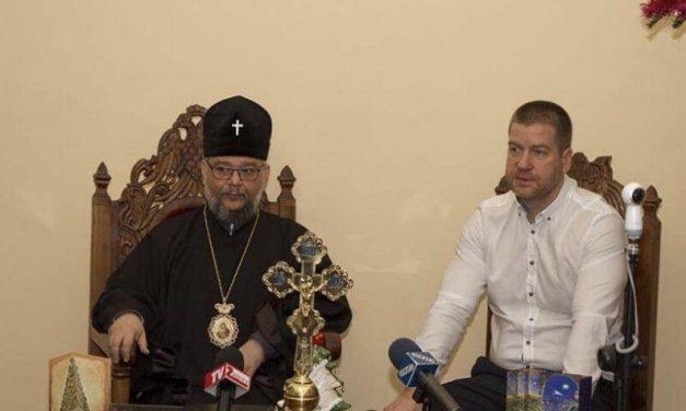 Митрополит Киприан благослови Живко Тодоров за предстоящата предизборна кампания