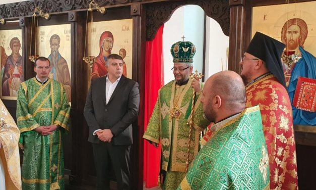 """Осветиха храм на територията на ТЕЦ """"Марица изток 2"""" ЕАД (СНИМКИ)"""