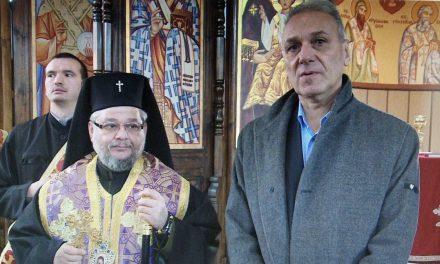 Митрополит Киприан отслужи водосвет в Старозагорския затвор