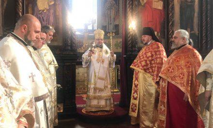 Митрополит Киприан отслужи св. Златоустова литургия по повод Рождество Христово