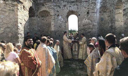 Митрополит Киприан ще служи в Потопената църква