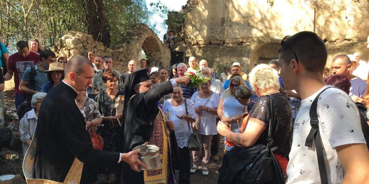 Митрополит Киприан отслужи празничен молебен в Потопената църква в село  Виден