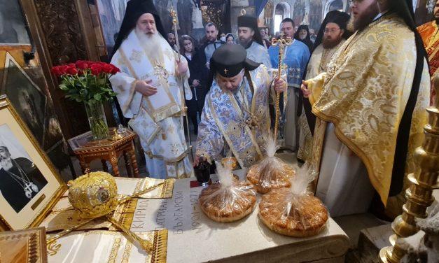 Панихида в памет на Българския патриарх Кирил отслужиха в Бачковската света обител