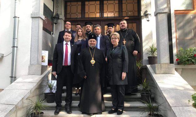 Митрополит Киприан се срещна с посланика на Русия у нас