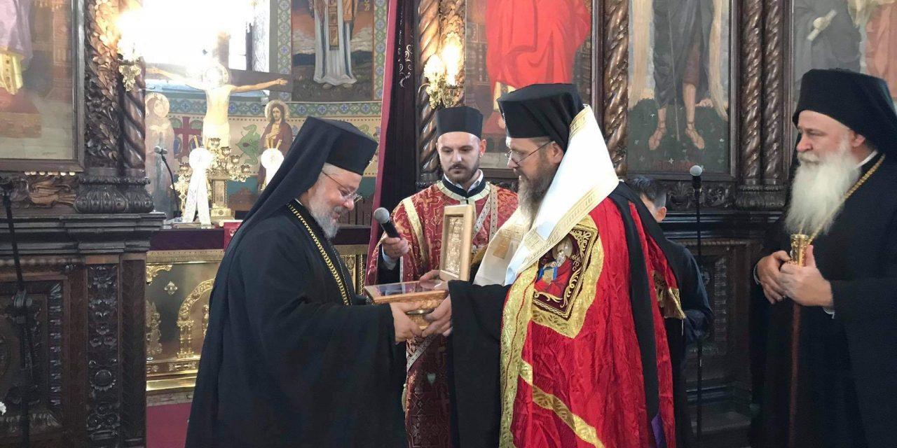 В Стара Загора посрещнаха частица от мощите на Св. свщмчк Киприан Картагенски